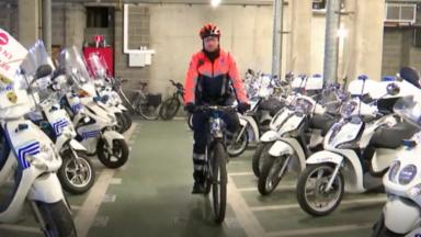 David Stevens, le policier à vélo, élu ambassadeur de la mobilité en Flandre