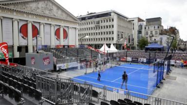 La Fédération belge veut un tournoi mondial de padel à Bruxelles