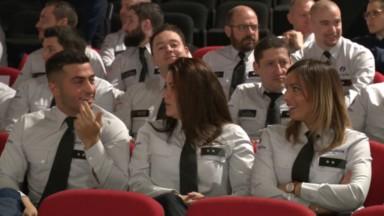 Les policiers, pompiers, militaires, ambulanciers de demain reçoivent leur diplôme