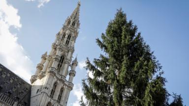 Bruxelles-ville : le centre se pare doucement de ses décorations de Noël