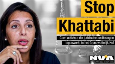 Ecolo demande le retrait d'une campagne choc de la N-VA visant Zakia Khattabi