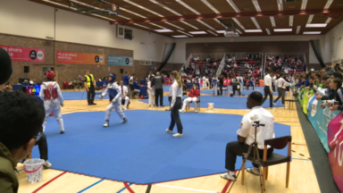 Le Championnat international de Taekwondo se tient ce weekend à Bruxelles