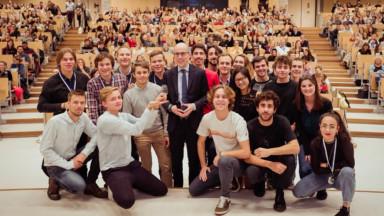 Record : une école d'œnologie bruxelloise organise le plus grand cours au monde