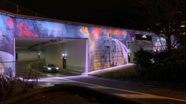 Bonom a terminé son oeuvre sur le tunnel Reyers