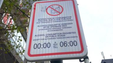 La consommation d'alcool sur le piétonnier reste interdite jusqu'en février 2021