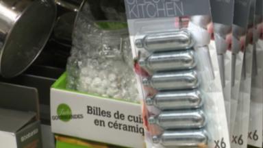 Les capsules d'azote interdites à la vente pour les mineurs