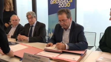 """Le Gouvernement bruxellois présente sa stratégie """"GO4Brussels 2030"""""""