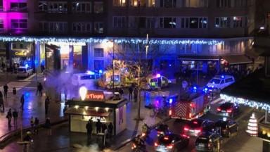 L'enfant tombé du troisième étage Place Flagey est décédé dans la nuit