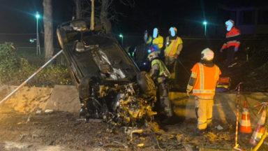 Uccle : deux personnes gravement blessées dans un accident de la route