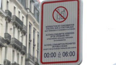 Bruxelles : la consommation d'alcool interdite pendant la nuit sur le piétonnier
