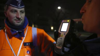 """Campagne """"Bob"""": 270 conducteurs contrôlés à Bruxelles ce week-end, dont 7 étaient sous influence de l'alcool"""