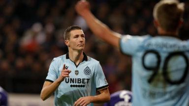 Un doublé de Vanaken offre la victoire au Club de Bruges à Anderlecht