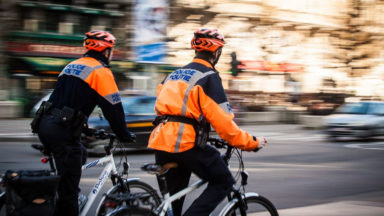 La brigade cycliste de la zone de police Midi opérationnelle cette année