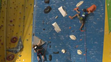 Escalade : les meilleurs grimpeurs du pays s'affrontent lors d'une coupe nationale