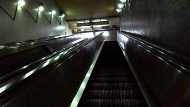 Les escalators de la Stib souvent à l'arrêt à cause d'incivilités