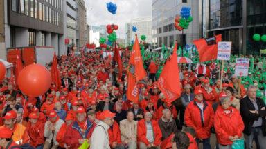 10.000 manifestants attendus à Bruxelles pour la manifestation nationale de la FGTB