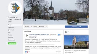 La commune de Forest se lance sur Facebook