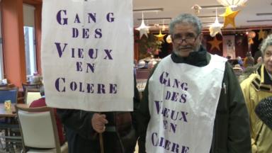 Le Gang des Vieux en Colère dénonce les problèmes rencontrés dans les maisons de repos