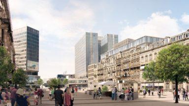 Un projet immobilier d'envergure déposé pour redynamiser la place De Brouckère