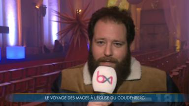 """Noël des Cathédrales : """"Le Voyage des Mages"""" débute à Bruxelles"""