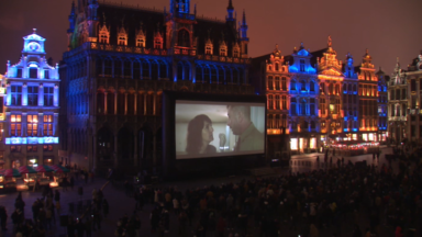 """Lucky"" s'offre une projection sur la Grand Place devant 3.000 spectateurs"
