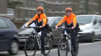 Neder-over-Heembeek et Haren accueillent leurs deux premières agents à vélo