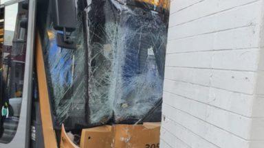 Schaerbeek : un tram 62 déraille faisant 9 blessés