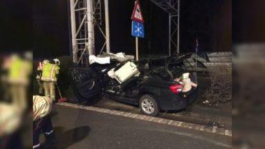 Accident de la route sur l'E40 à Evere : deux personnes sont décédées