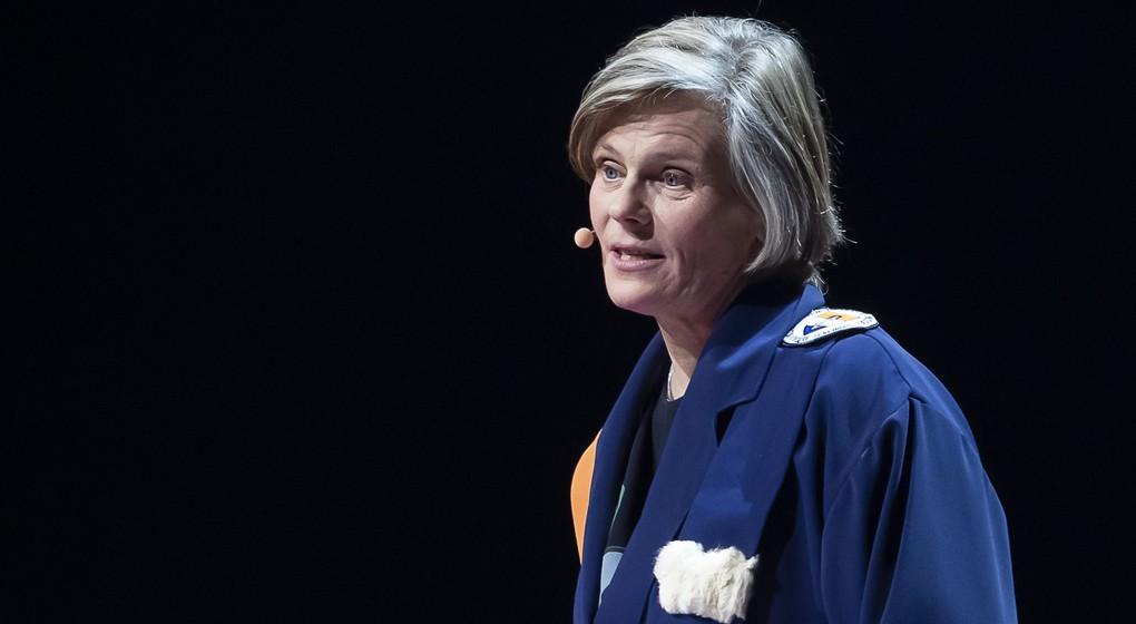 Caroline Pauwels - Rectrice VUB - Belga Kristof Van Accom