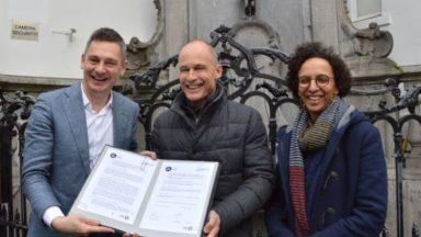 La Fondation Solar Impulse et la Ville de Bruxelles signent une convention en faveur de la transition écologique