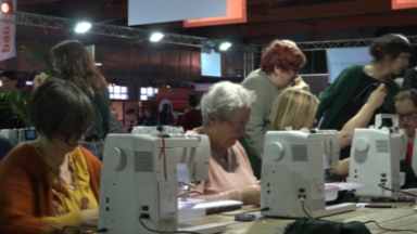 Ateliers de couture ou de cake design : Creativa reprend ses quartiers à Brussels Expo
