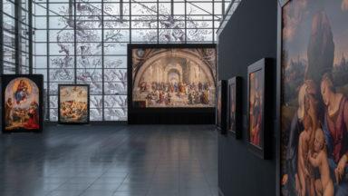 Les oeuvres de Raphaël s'installent pour un mois à Bruxelles