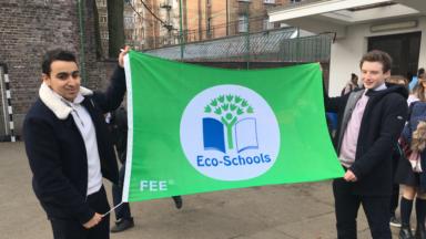 """Le label """"Eco-Schools"""" de plus en plus convoité par les écoles bruxelloises"""