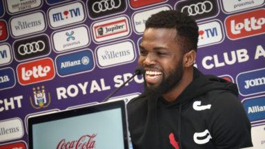 Le Jamaïcain Kemar Lawrence, dernière recrue du mercato hivernal du RSC Anderlecht