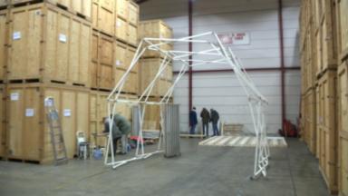 Cette start-up etterbeekoise crée les premières structures en aluminium recyclé pour les événements