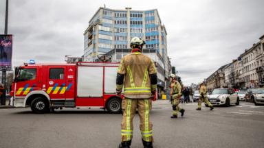 Plus de 300 interventions liées aux intempéries pour les pompiers de Bruxelles dans la nuit