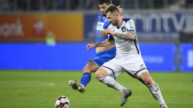 Anderlecht ne parvient pas à se détacher de La Gantoise (1-1)