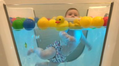 Ganshoren : le spa pour bébé ne désemplit pas