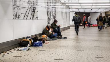 150 places d'hébergement pour sans-abris menacées à Bruxelles
