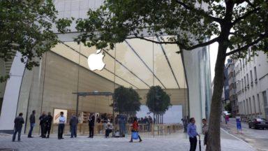 L'Apple Store avenue de la Toison d'Or cambriolé dans la nuit de lundi à mardi