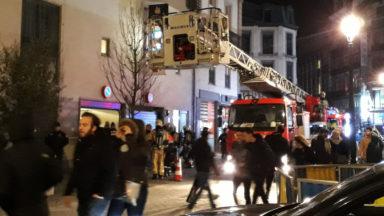 Un début d'incendie dans le sous-sol de l'hôtel Marriott à la Bourse