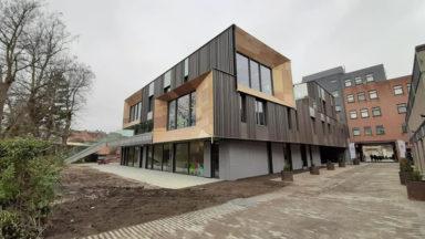 Etterbeek : inauguration de la plus grande crèche de Belgique francophone