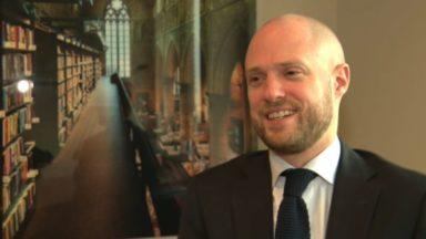 David Leisterh, nouveau président du MR bruxellois