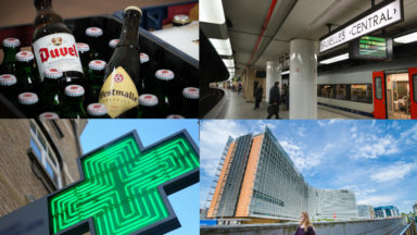 Alcool, SNCB, prescriptions et Brexit : tout ce qui change ce 1er février à Bruxelles