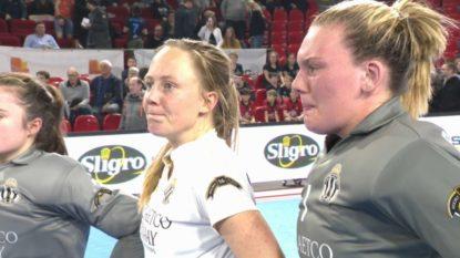 Défaite du Racing face au Watducks en hockey indoor féminin