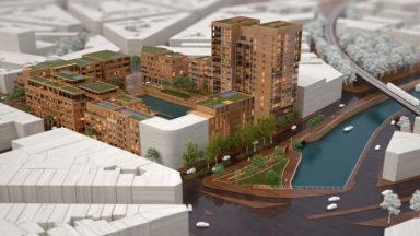 """Le projet de la """"Marina"""" à Anderlecht tombe à l'eau"""