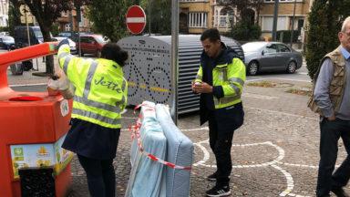 Jette : l'absence de poubelles publiques n'a pas rendu la commune plus sale