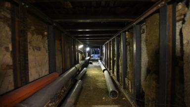 Une bande de circulation fermée au tunnel Léopold II pour cause de travaux