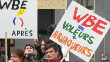 Nouvelles manifestation de colère des professeurs de l'athénée Toots Thielemans de Molenbeek