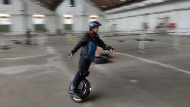 La micro-mobilité se fait sportive aux Winter Games à Tour et Taxi